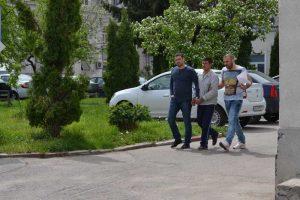 Florin Rizea, escortat spre arest