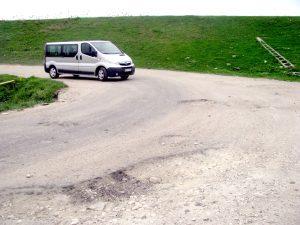 Drumul neputinţei la barajul Prundu