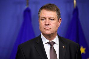 Klaus Iohannis şi-a anunţat candidatura pentru un nou mandat de preşedinte al ţării