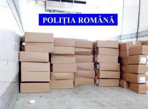 Cutii cu pipote, indisponibilizate de poliţişti