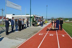 Baza sportivă a fost inaugurată