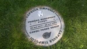 """""""Capsula Timpului"""", o curiozitate pentru turişti"""