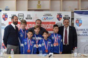 Sportivii de la CS Dacia Mioveni 2012, felicitaţi pentru rezultate