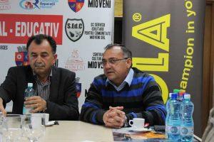 Viceprimarul Aurel Costache şi Constantin Stancu