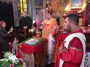 """La slujba de la Biserica """"Sfântul Ioan Botezătorul"""""""