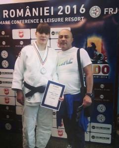 Lavinia Lioveanu, alături de antrenorul său