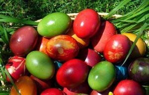 Vopseşte ouăle natural, în culorile curcubeului