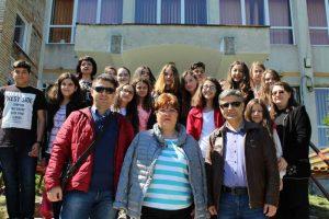 Ioana Popescu, alături de organizatorii din Turcia