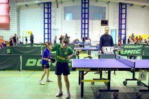 Locul trei la tenis de masă