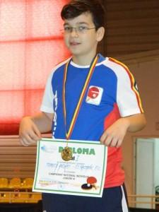 Medalii la tenis de masă