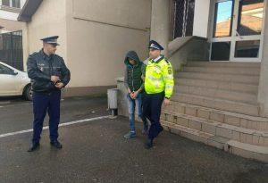 Sibianul, preluat sub escortă de poliţişti dâmboviţeni