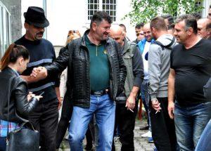 Florin Fratică la ieşirea din arest