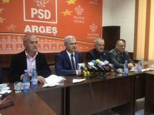 Liviu Dragnea vine mâine să facă ordine la PSD Argeş