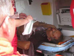 Septuagenarul, mort în ambulanţă