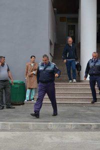 Poliţiştii au terminat percheziţiile
