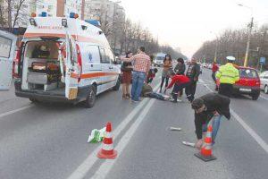 Traversarea imprudentă prezintă risc major de accident