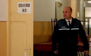 Poliţiştii vor supraveghea secţiile de votare