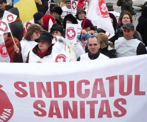 Sindicaliştii Sanitas au cerut demisia ministrului de Finanţe