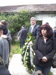 Directorul Jean Dumitraşcu, la înmormântare