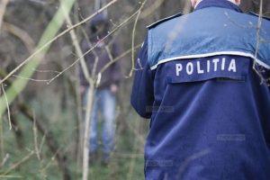 Poliţia, prezentă la faţa locului