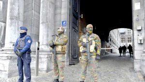 Bruxelles, un oraş încă în stare de asediu