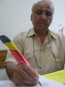 Bunicul şi pana sa tricoloră