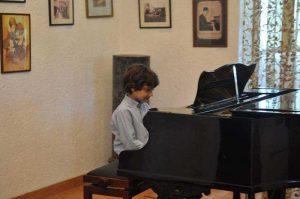 Secţiunea pian