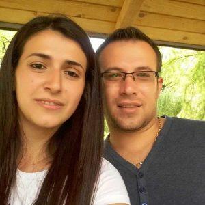 Mihaela Ilina, alături de prietenul ei