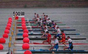 O nouă competiţie de kaiac-canoe