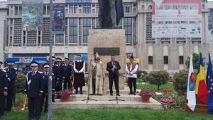 Evocare la statuia lui Mircea cel Bătrân