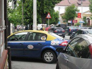 Taximetrist la cârciumă