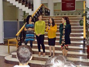 Denisa Popescu (gazda), Denisa Popescu (artista), Daniela Voiculescu şi Allora Albulescu