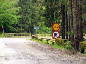 Restricţia de tonaj de la km 84