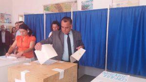 Cornel Ionică, la vot
