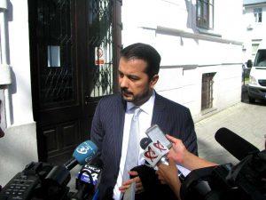 Reprezentantul casei de avocatură nu a făcut declaraţii