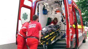 Eleva, preluată de echipa medicală