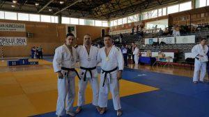 Echipa de judokani a jandarmeriei argeşene