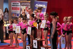 Concursului județean de gimnastică ritmică