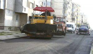 De azi, utilajele vor turna asfalt în cartierul Trivale