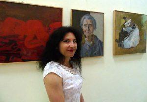 Adina Romanescu şi portretul bunicii
