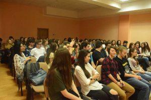 Sala a fost plină
