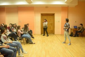 Bianca Tilă prezintă proiectul