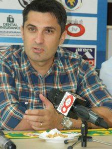 Claudiu Niculescu a fost înlocuit la Voluntari de Adrian Mutu