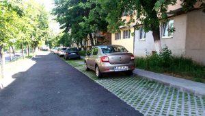 Scandal pe locurile de parcare amenajate cu fonduri europene