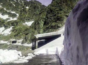 1      Munţi de zăpadă pe Transfăgărăşan, aproape de Cota 2000   (sursa: Relu NICA/Facebook)