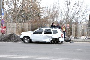 Cinci răniţi în trei accidente