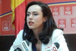 Simona Bucura Oprescu, declaraţie în Parlament