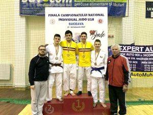 Judoka piteşteni, pe podium la Suceava