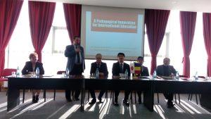 Profesori japonezi la Universitatea din Piteşti, cu prilejul unui eveniment educaţional-ştiinţific