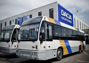 Din nou un autobuz de la Dacia, implicat în eveniment rutier